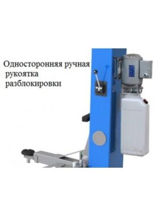 Подъемник 2-х стоечный 4,0 т с нижней синхронизацией 380В PWR-240A-380 POWERLIFT