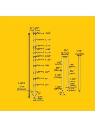 Степлер пневматический 2 в 1 универсальный