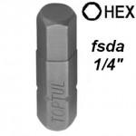 "Насадка HEX FSDA 1/4"""