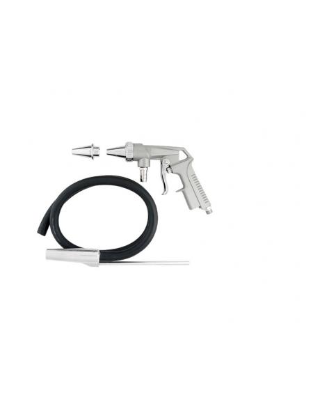 Пистолет пескоструйный пневматический нижний метал. бачок PS-4 AUARITA