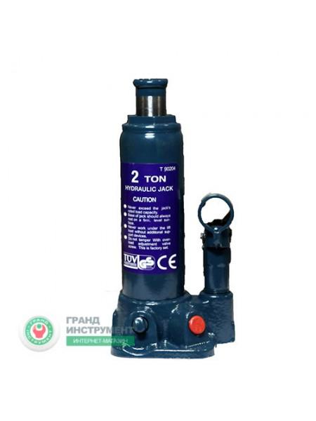 Домкрат бутылочный 2т (181-345 мм) T90204
