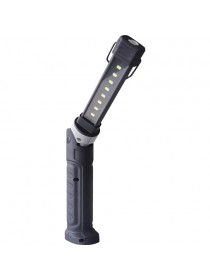 Фонарь светодиодный (LED) аккумуляторный 8+1 SMD-LED