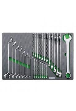 Набор ключей комб. и накидных 6-32мм GED2820