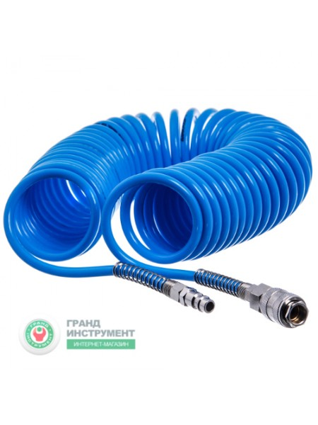 Шланг спиральный 8х12мм L=15м (PROFI) Italy AHC48-K