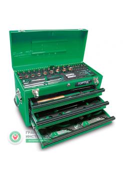 Ящик с инструментом 3секции 99ед. GCAZ0038