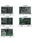 Тележка с инструментом 8секций 360ед. JUMBO GT-36001