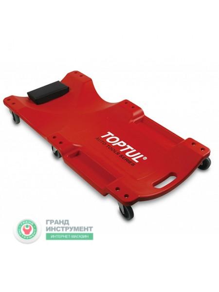 Лежак автослесаря подкатной пластиковый 1020x480x115мм JCM-0300
