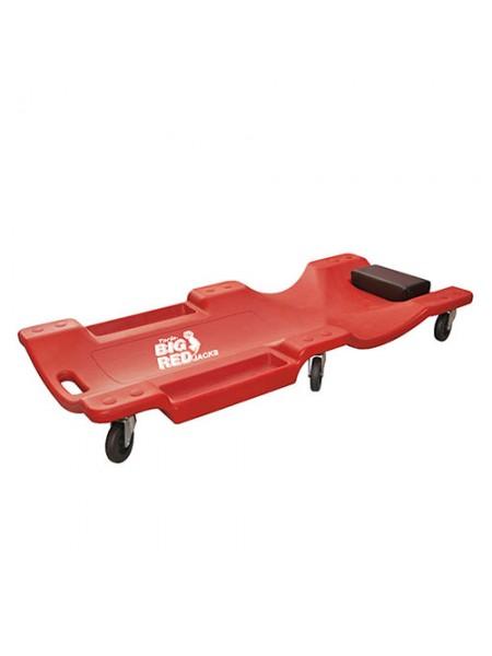Лежак автослесаря подкатной пластиковый TRH6802-2