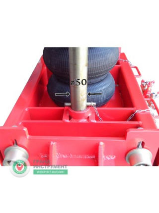 Траверса пневматическая усиленная 4,2т TPU-420