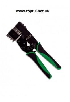 Клещи для обжимки клемм и снятия изоляции  2 в 1 DKCA2222